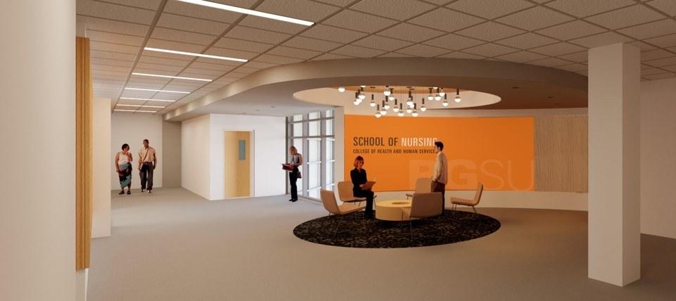 Interior renovations prepare for nursing opportunities