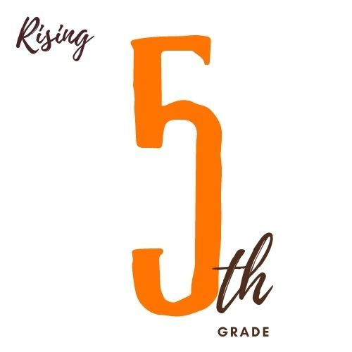 Image is of the number Five and text th grade as in fifth Grade