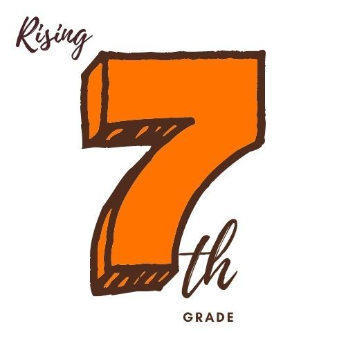 Image is of the number seven and text th grade as in seventh Grade