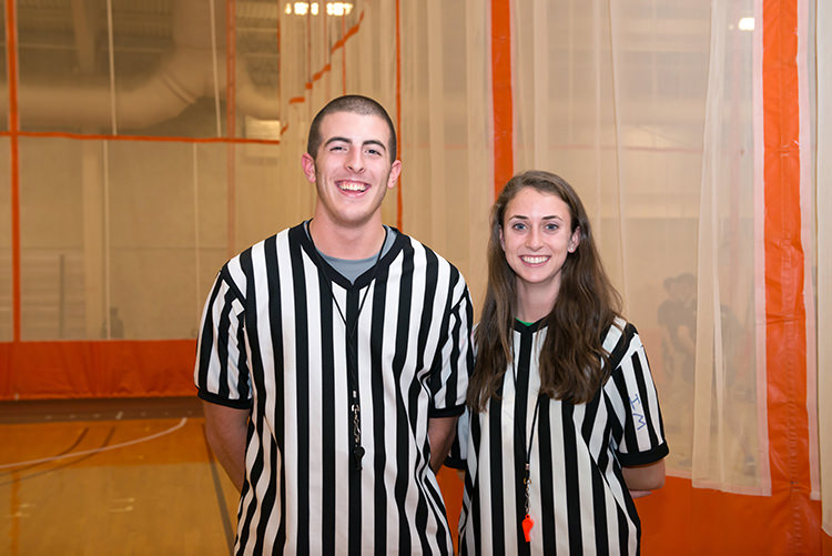 Student intramural officials