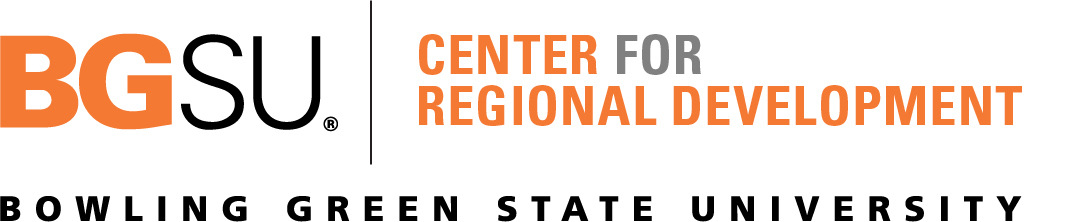 BGSU Center for Regional Developement Logotype