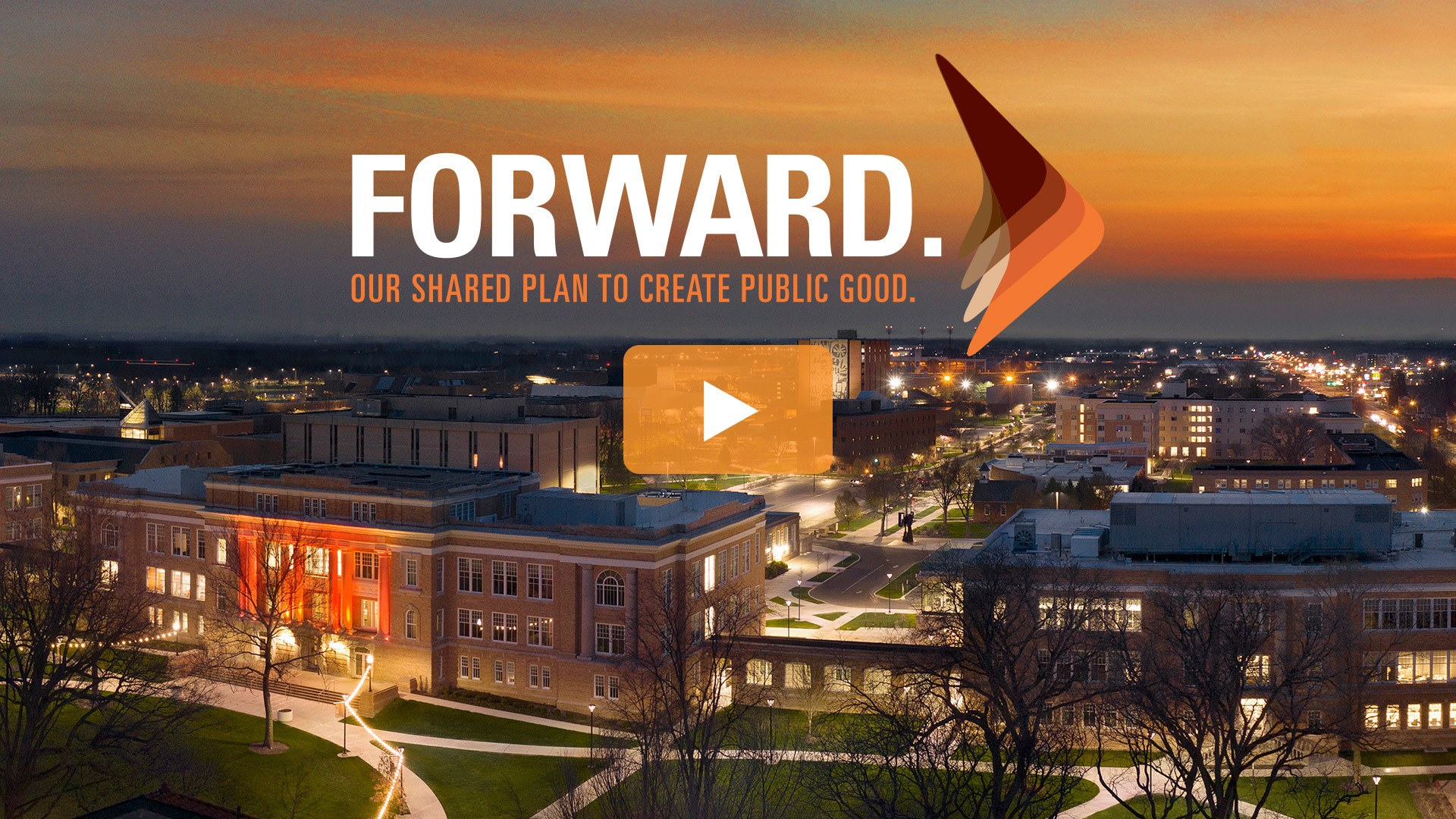 Video player for 'Forward - Our shared plan to create public good.'