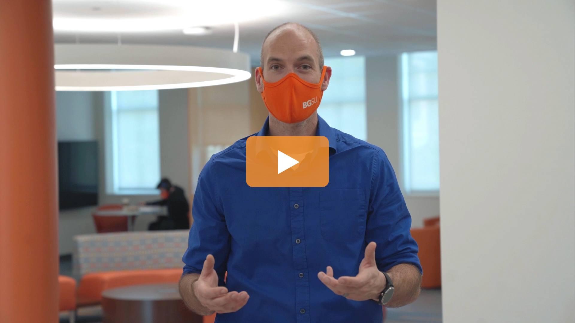 Watch BGSU Chief Health Officer Ben Batey's September 23 Video Update