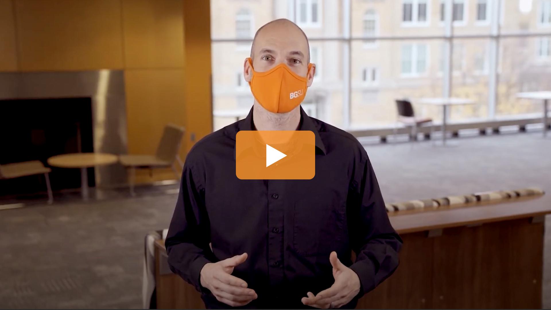 Watch BGSU Chief Health Officer Ben Batey's October 28 Video Update
