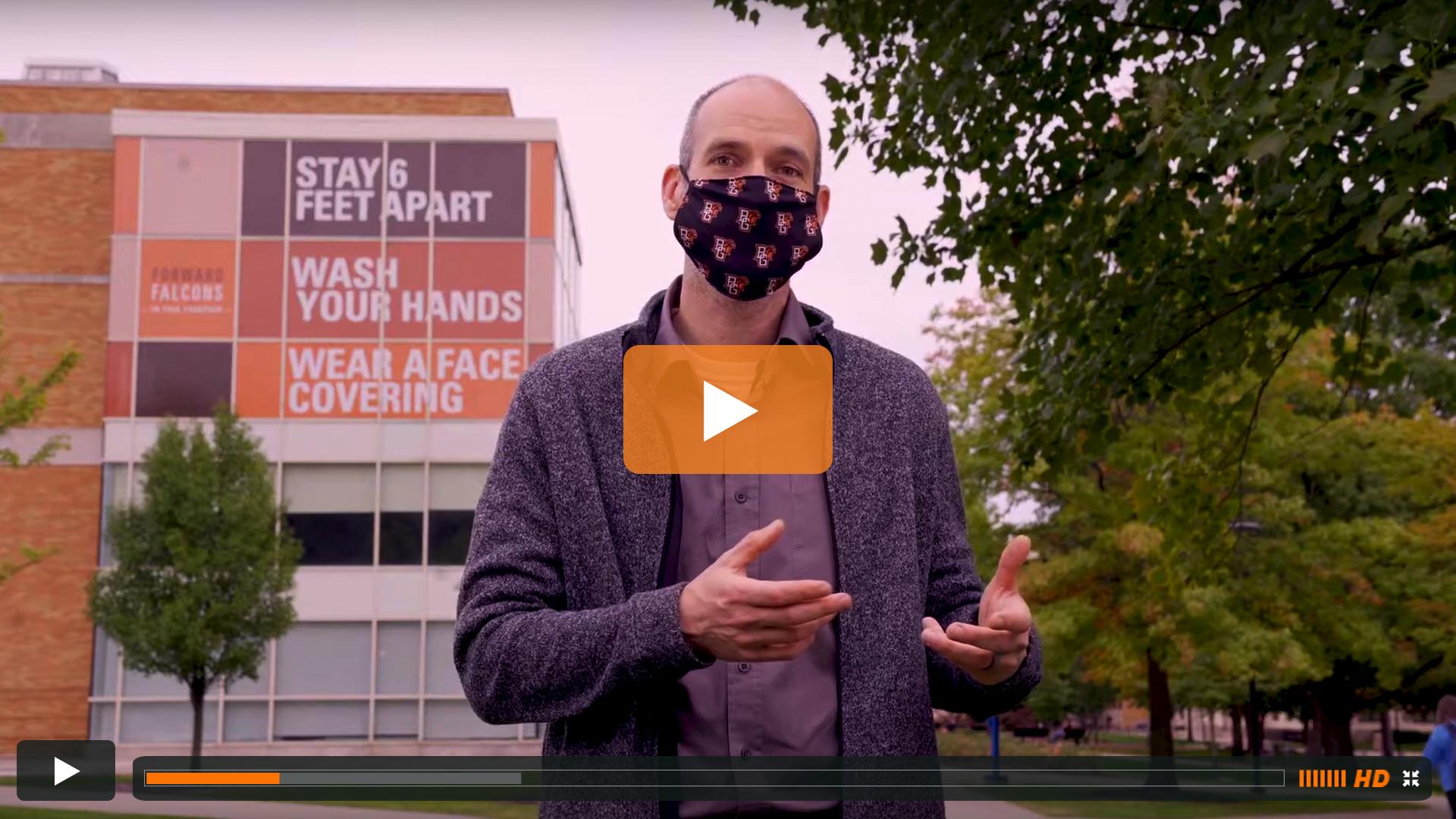 Watch BGSU Chief Health Officer Ben Batey's September 29 Video Update