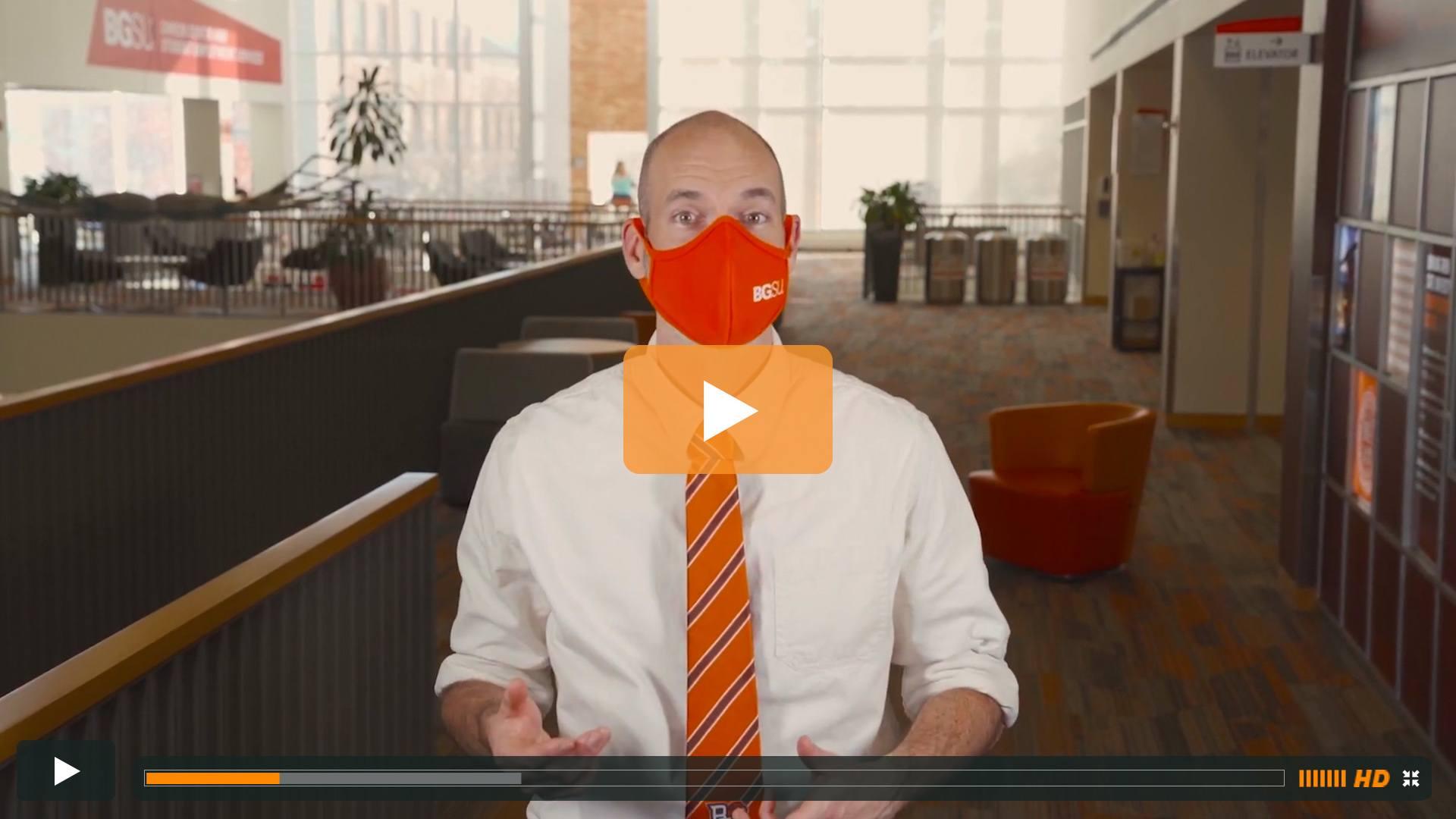 Watch BGSU Chief Health Officer Ben Batey's November 10 Video Update
