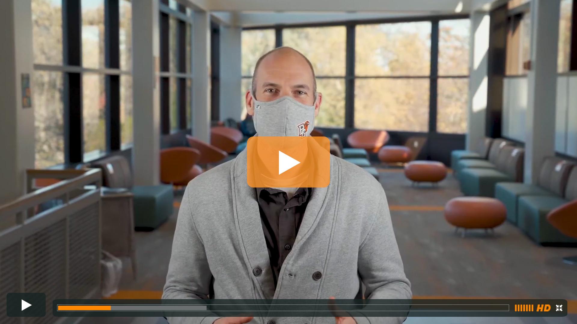 Watch BGSU Chief Health Officer Ben Batey's November 4 Video Update
