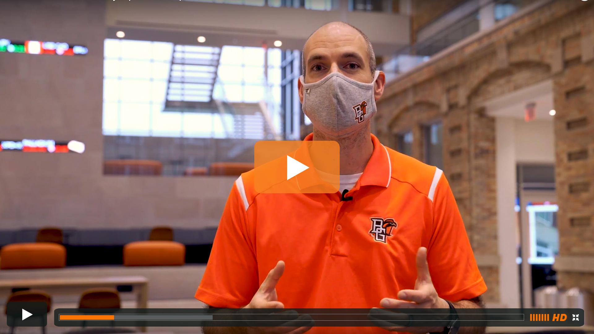 Watch BGSU Chief Health Officer Ben Batey's Weekly Video Update