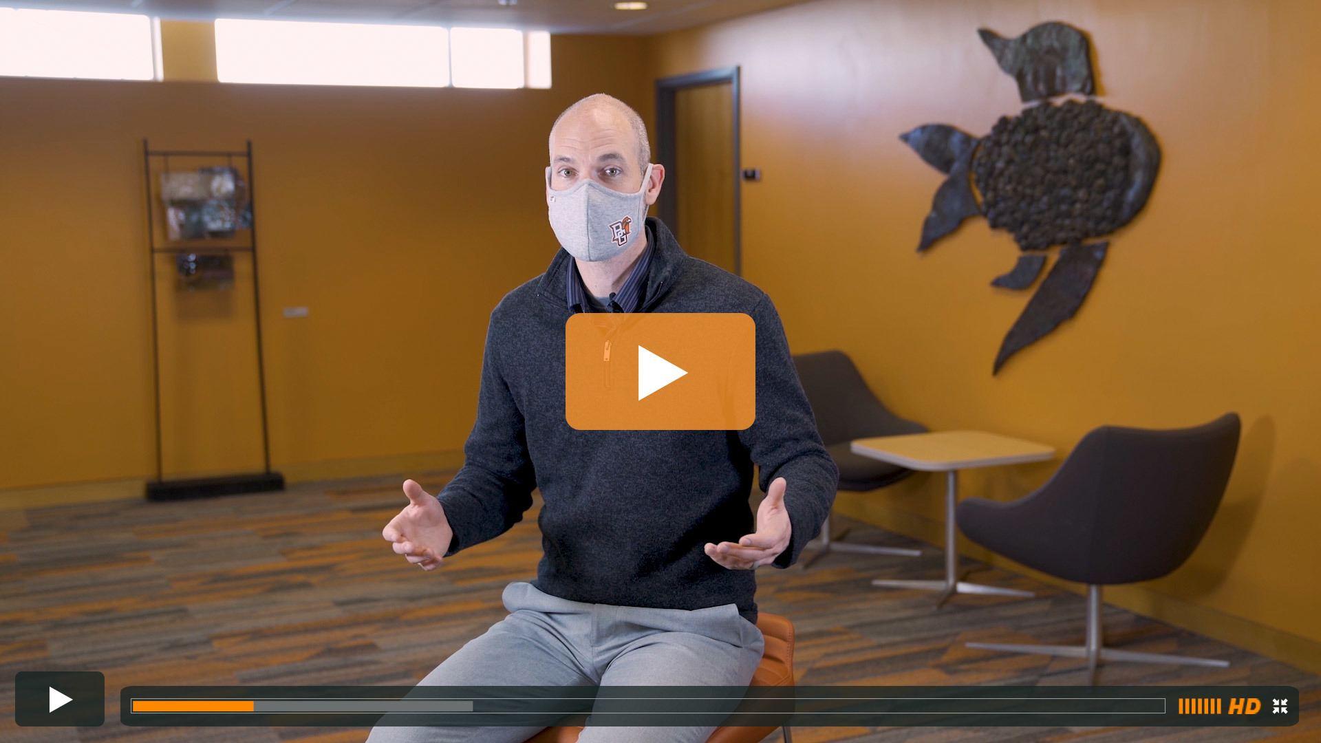 Watch BGSU Chief Health Officer Ben Batey's March 23 Video Update