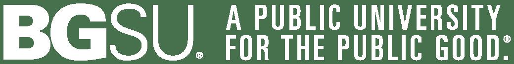 BGSU A Public University for the Public Good