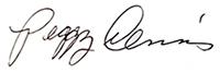 Peggy Dennis Signature
